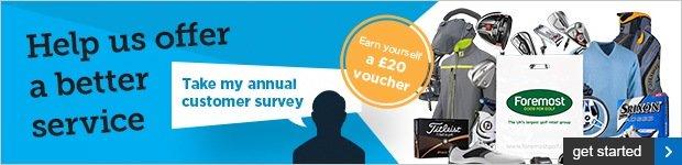 Annual Customer Survey - earn a £20 voucher